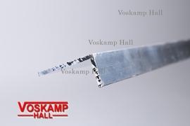 Aluminium profiel 40x20 (44202)