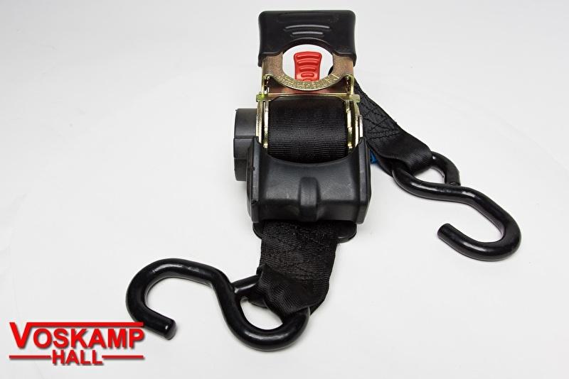 2 stuks Spanband Zwart Breed (08816)