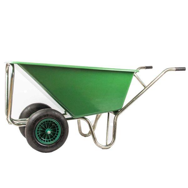 Kruiwagen 160L dubbel wiel (08886)