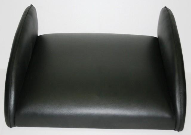 Bokkussen opleg zwarte bekleding (40201)