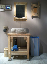 Steigerhout meubel op maat gemaakt.