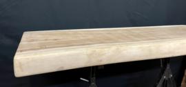 Suar blad lengte 160 cm,  breed 53 cm, dik 8 cm
