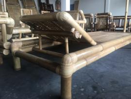 Bamboe ligbed met 2 standen