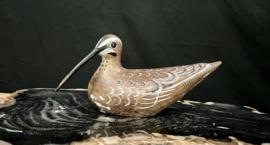 Hout snip watervogel, 26cm