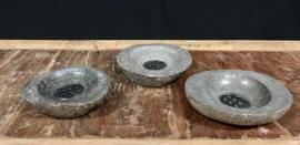 Natuurstenen zeepbak met RVC rooster