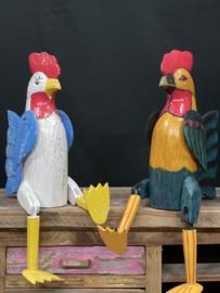 Landelijke kip, hoogte 50 cm