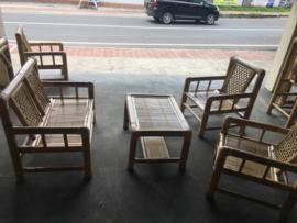 Bamboe meubel set