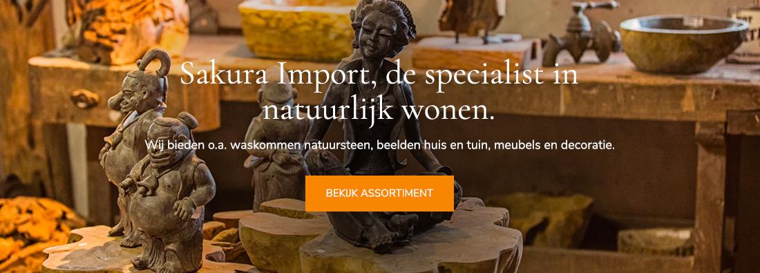 Sakura import webshop