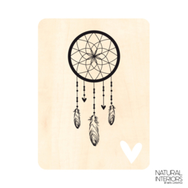 Houtprint Dreamcatcher
