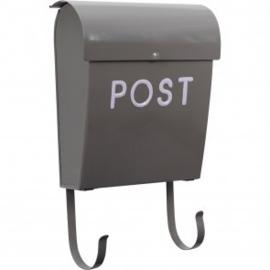 Mailbox Post Grijs