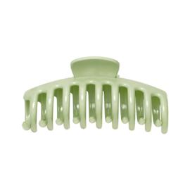 glanzende haarklip groen