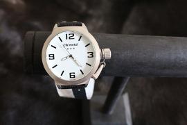 Horloge Black White
