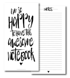 Notebook 'Happy'