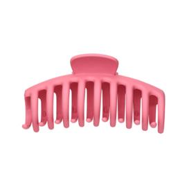 matte haarklip rosé