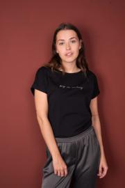 Tof basic shirt zwart by ZUSSS