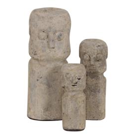 Ceramic Sumba Statue M Cream
