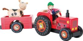 Boer en wagen