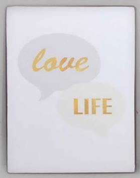 Tekstbord Love Life
