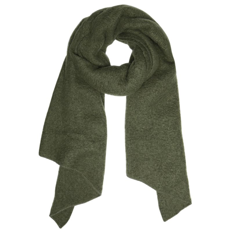 Sjaal comfy groen