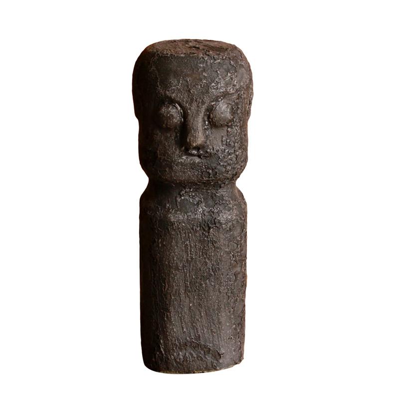 Ceramic Sumba Statue M Black