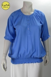 Blouse Chanti (02-1565-jeansblue)