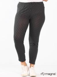 Legging Basic (F-0031-VISPR) - 001001-Polka Dots BW