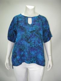 Shirt Holland (07-3678-bluepurpkras)