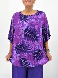 "Shirt ""JOYCE"" (09-4389) purpleaf"