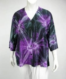 Blouse Denver (07-2401 - purpdarksin)