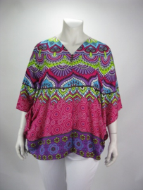 Blouse Happy (07-3634-purppinkisla) *