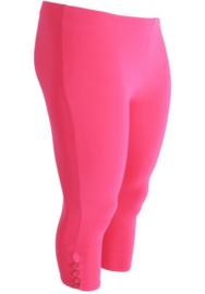 Legging 4 knopen (F-04) 006-L.Fuchsia *