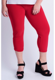 Legging Basic (F01) - 015-Rood