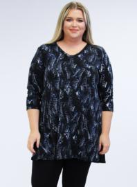 Lange basic shirt (B-6004-BVISPR) 005617-Navy Safari