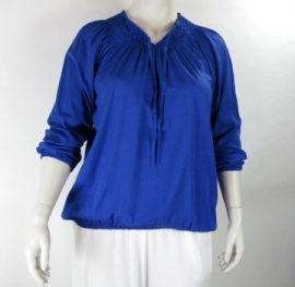 Blouse Delta (04-1972-Royalblue)