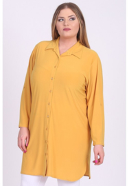 Tuniek-Blouse/knopen (C-7005) 076-Mellow Yellow