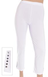 Legging met studs (F-10) 002=Wit