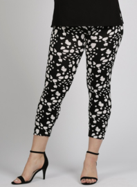 Legging Basic (F-0031-VISPR) - A10001-BW clouds