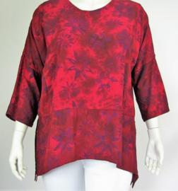 """Shirt """"INGE"""" (03-3907) bordred"""