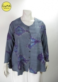 Blouse Costa (07-1500 - lightgreybluetd)