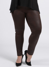 Legging Leather Look (F-20 LL) 064-Bruin