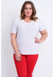 Shirt korte mouw (B-04) 002-Wit