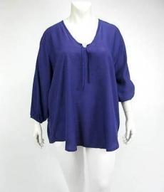 Blouse Emelie (10-2371 / purple)