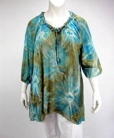 Blouse Dakota (06-2417 / turqgoldsin)