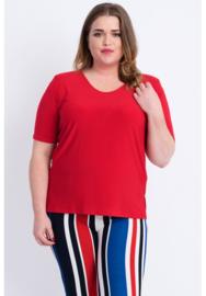 Shirt korte mouw (B-04) 015-Rood