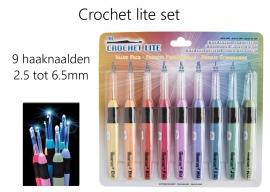 Crochet Lite - Haaknaald met lichtje - met gratis 3 reserve batterijen