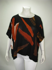 Shirt Havannah (07-3752-whitebrownafrica)