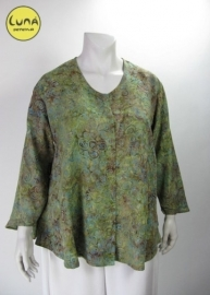 Blouse Costa (08-1501 - greenround)