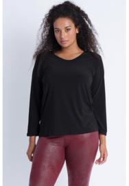 Shirt Lange Mouw (B-03) 001-Zwart