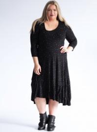 (C-6034-Vis print) Long Dress