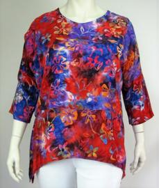 """Shirt """"INGE"""" (04-3908) orblueflwr"""
